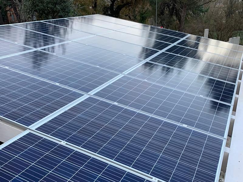 impianto fotovoltaico in Valore Comunity