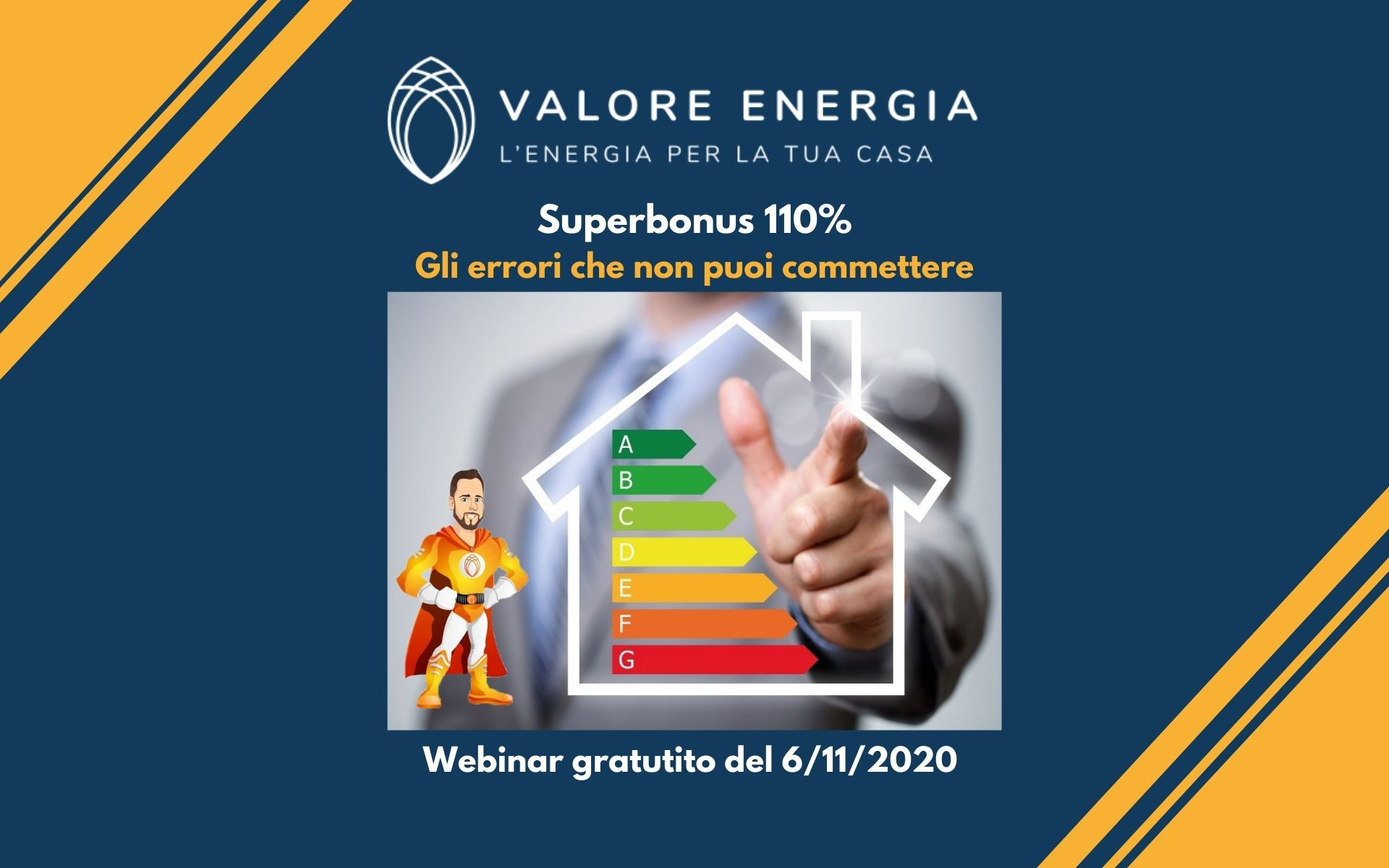 webinar sul Superbonus 110 % Gli errori che non puoi commettere
