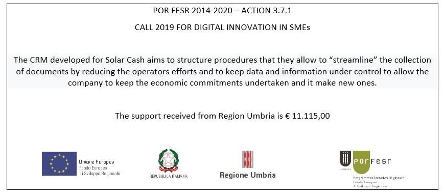 Bando innovazione digitale per PMI Regione Umbria eng