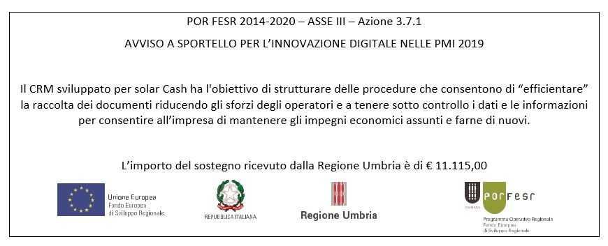 Bando innovazione digitale per PMI Regione Umbria ita