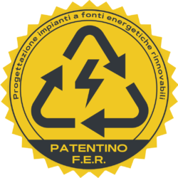 Patentino progettazione F.E.R.
