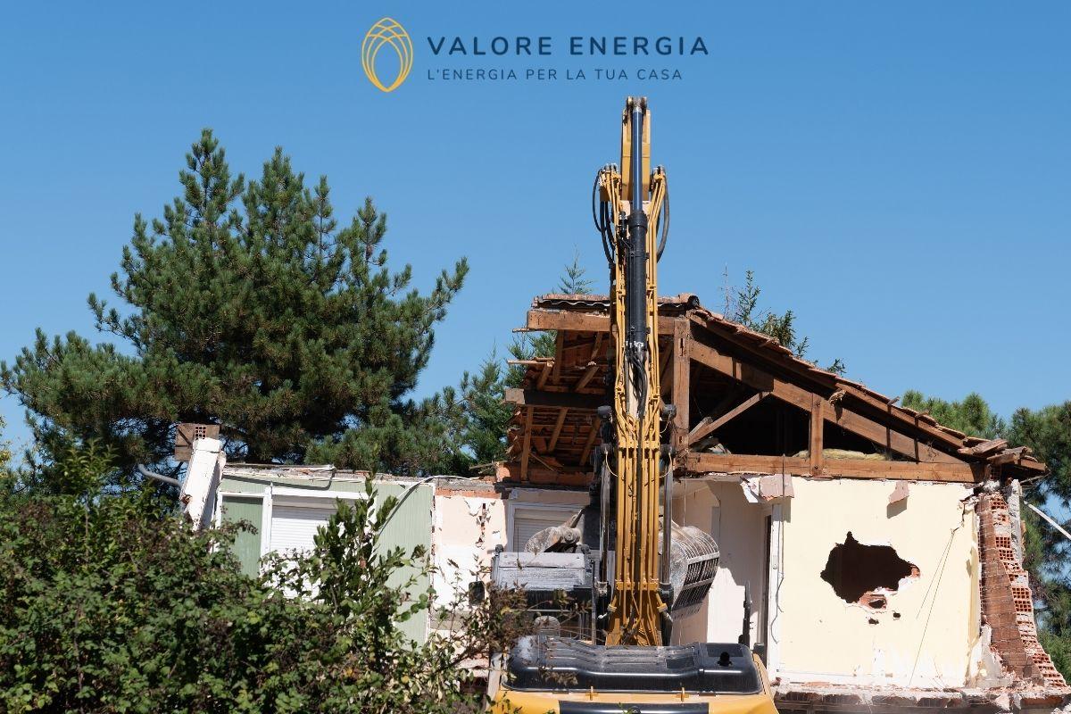 La demolizione e ricostruzione con ampliamento rientra nel Superbonus?