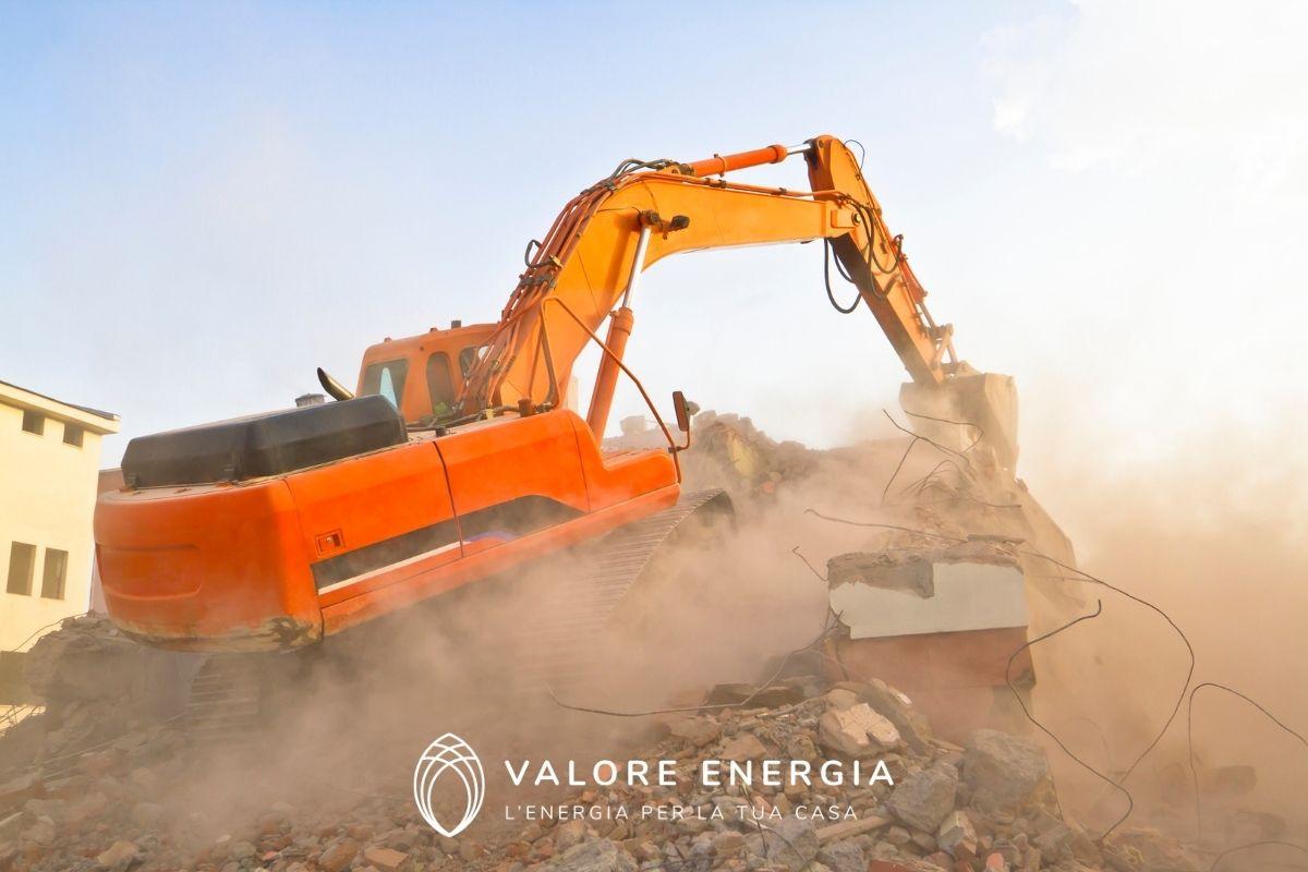 Demolizione e ricostruzione 110: come funziona?