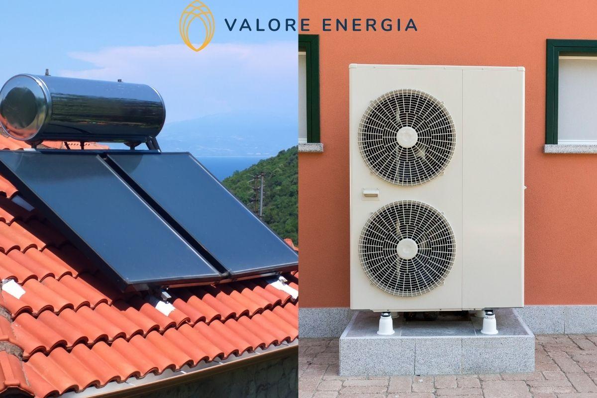 Pompa di calore o solare termico: quale scegliere? Quale conviene di più?
