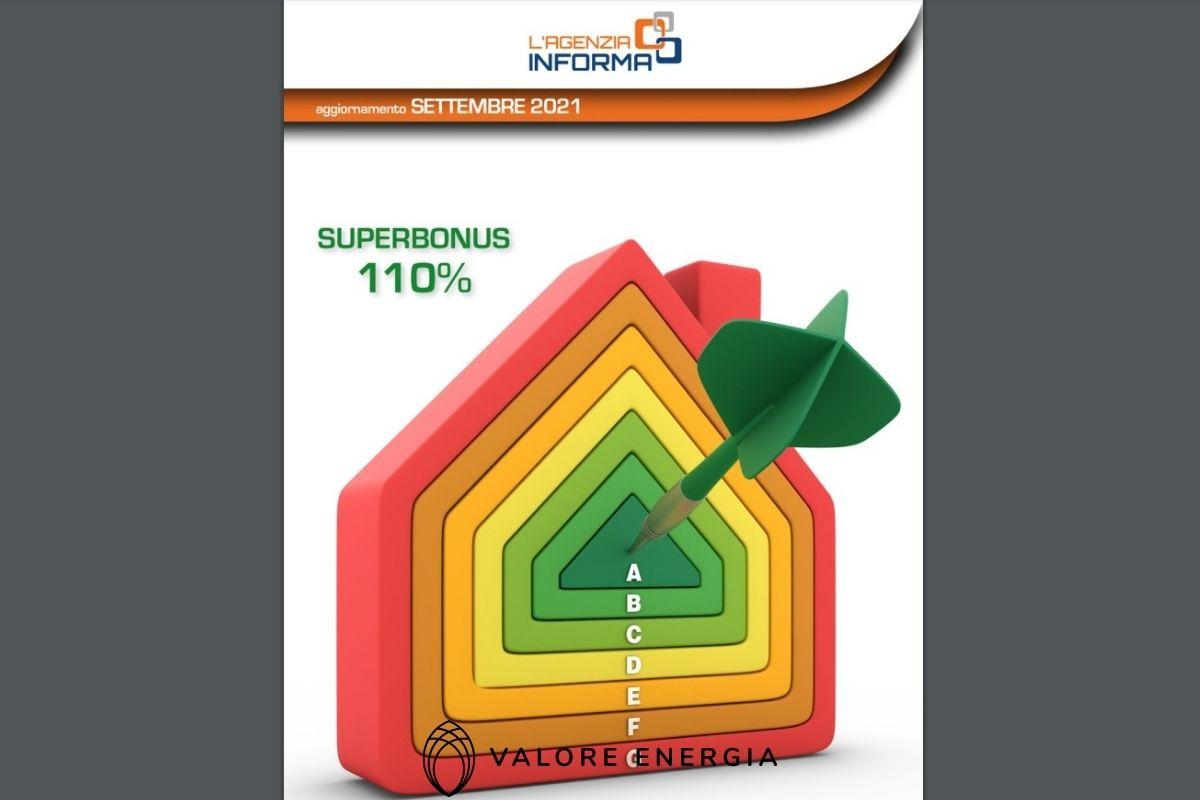 Guida 2021 Superbonus 110 pubblicata dall'Agenzia delle Entrate